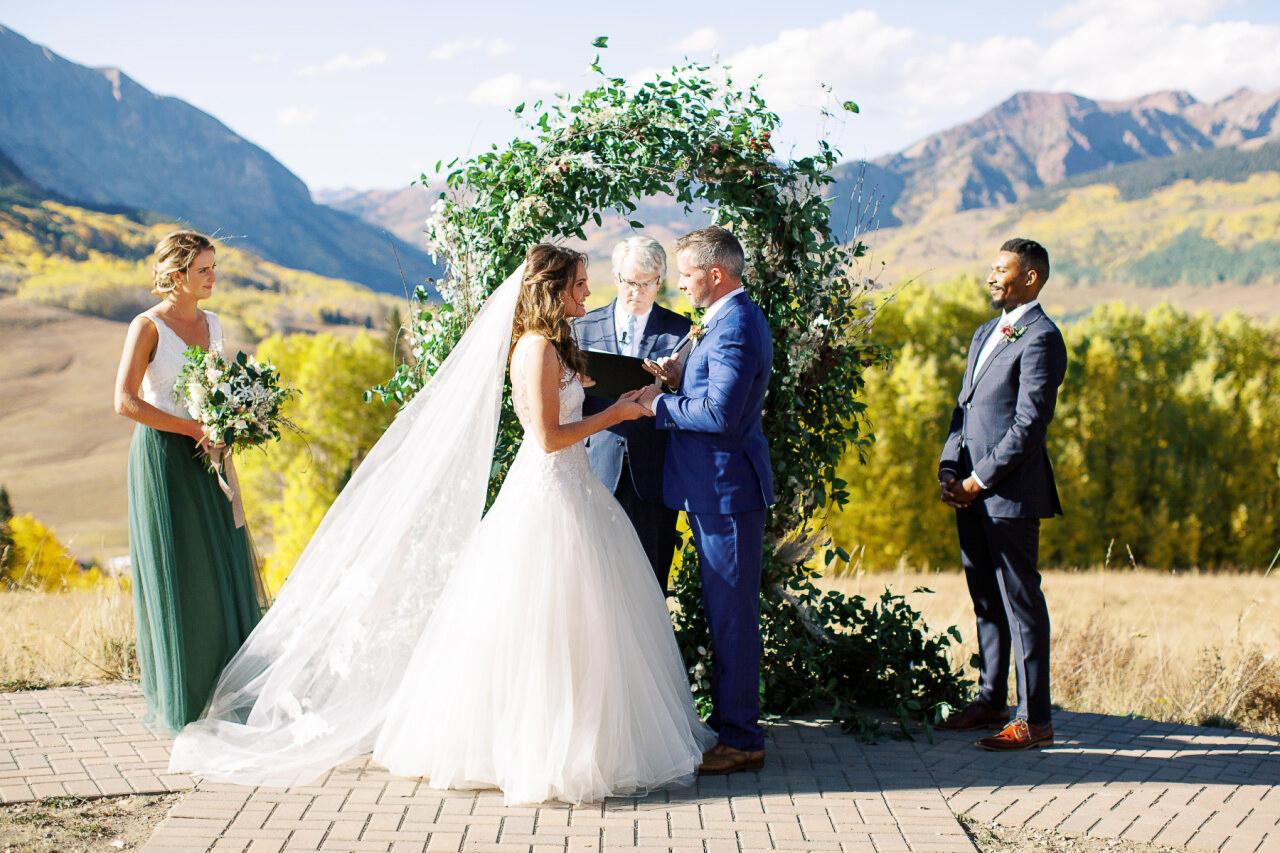 molly frank wedding ceremony vows