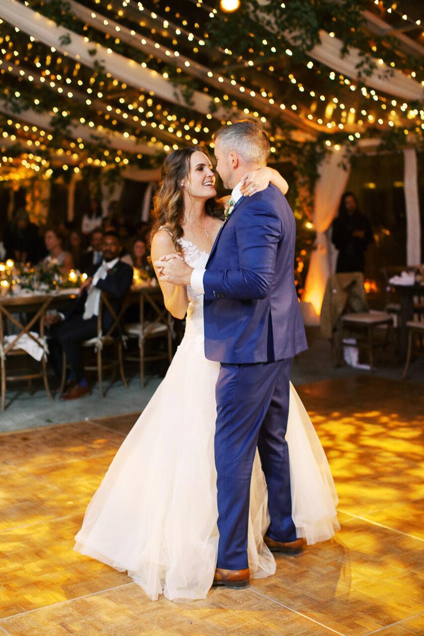 molly frank wedding dance couple
