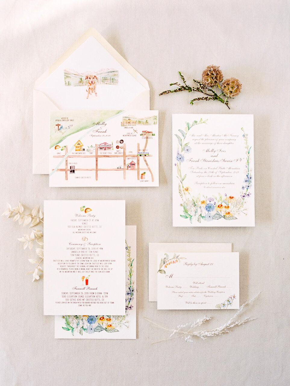 molly frank wedding invites