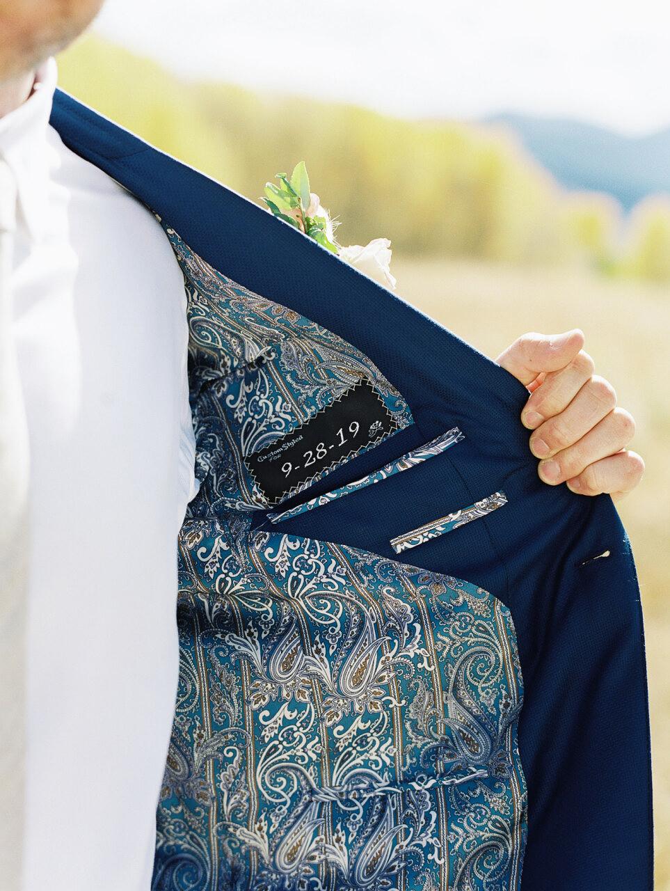 molly frank wedding jacket groom
