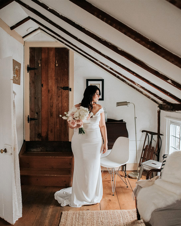 stephanie taurean wedding bride