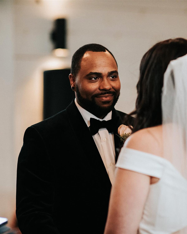 stephanie taurean wedding groom
