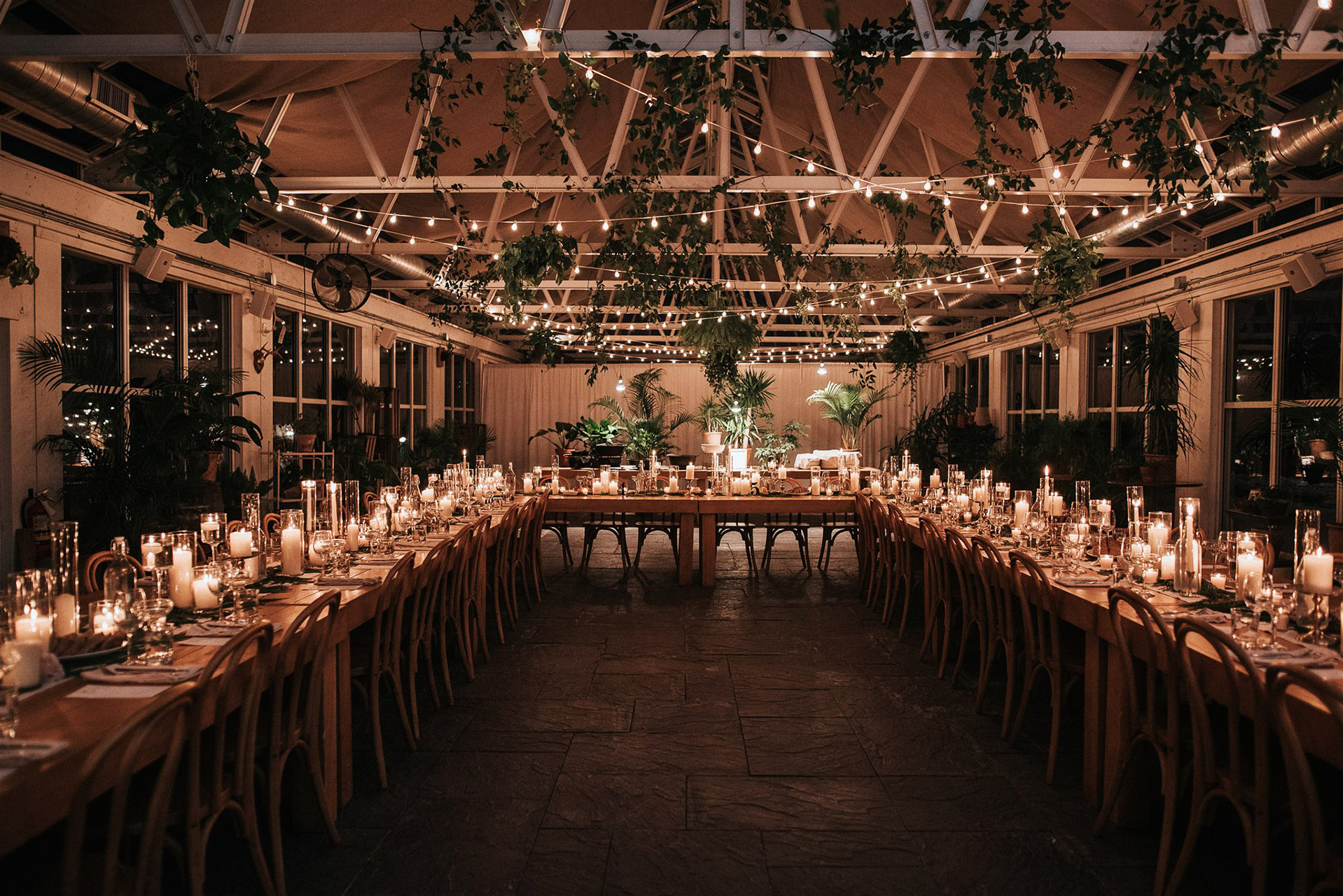 stephanie taurean wedding reception space