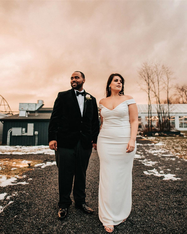 stephanie taurean wedding venue couple