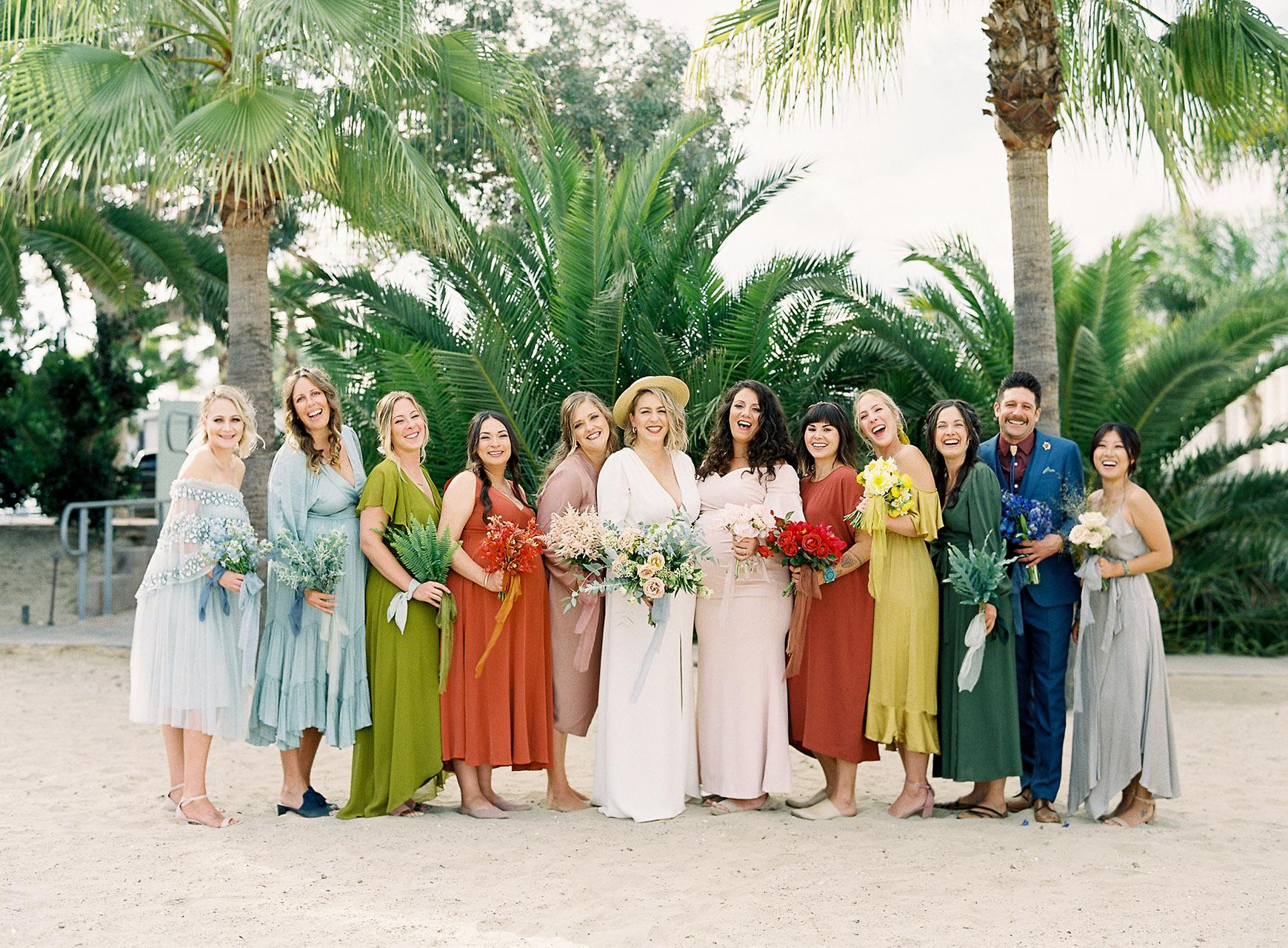janelle stephen wedding bridesmaids