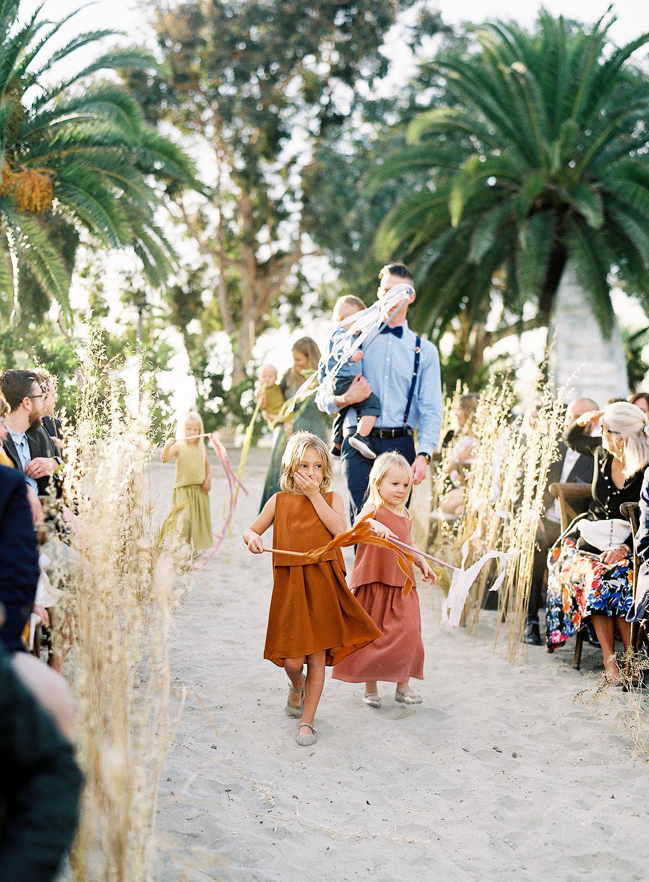 janelle stephen wedding kids ceremony