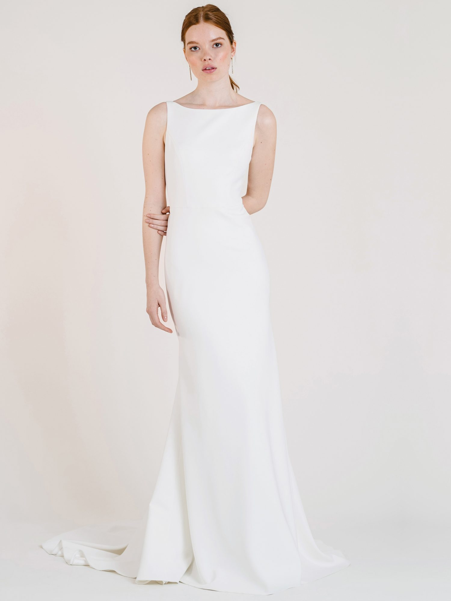 jenny by jenny yoo high neck sleeveless wedding dress fall 2020