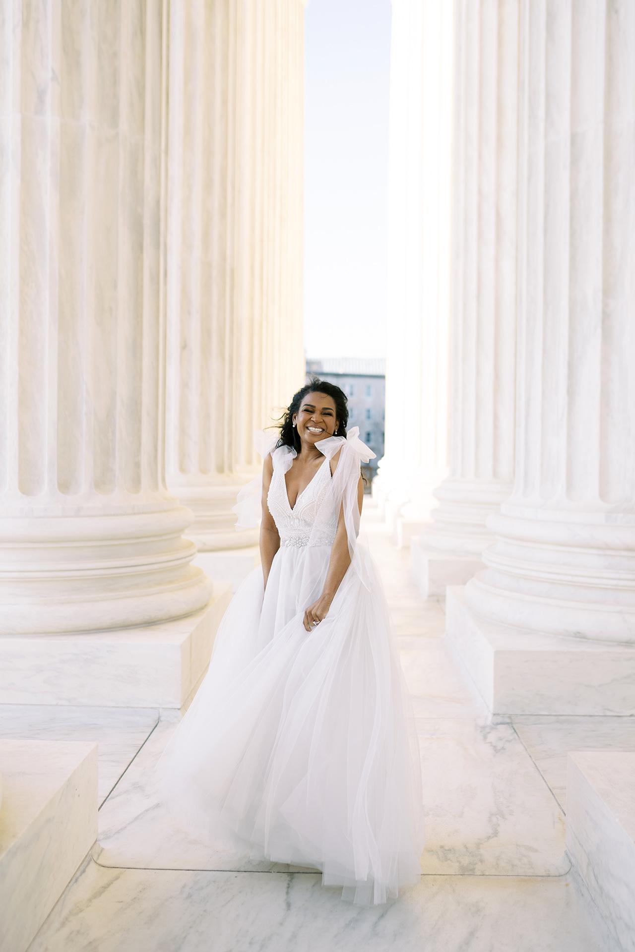 denita john wedding bride