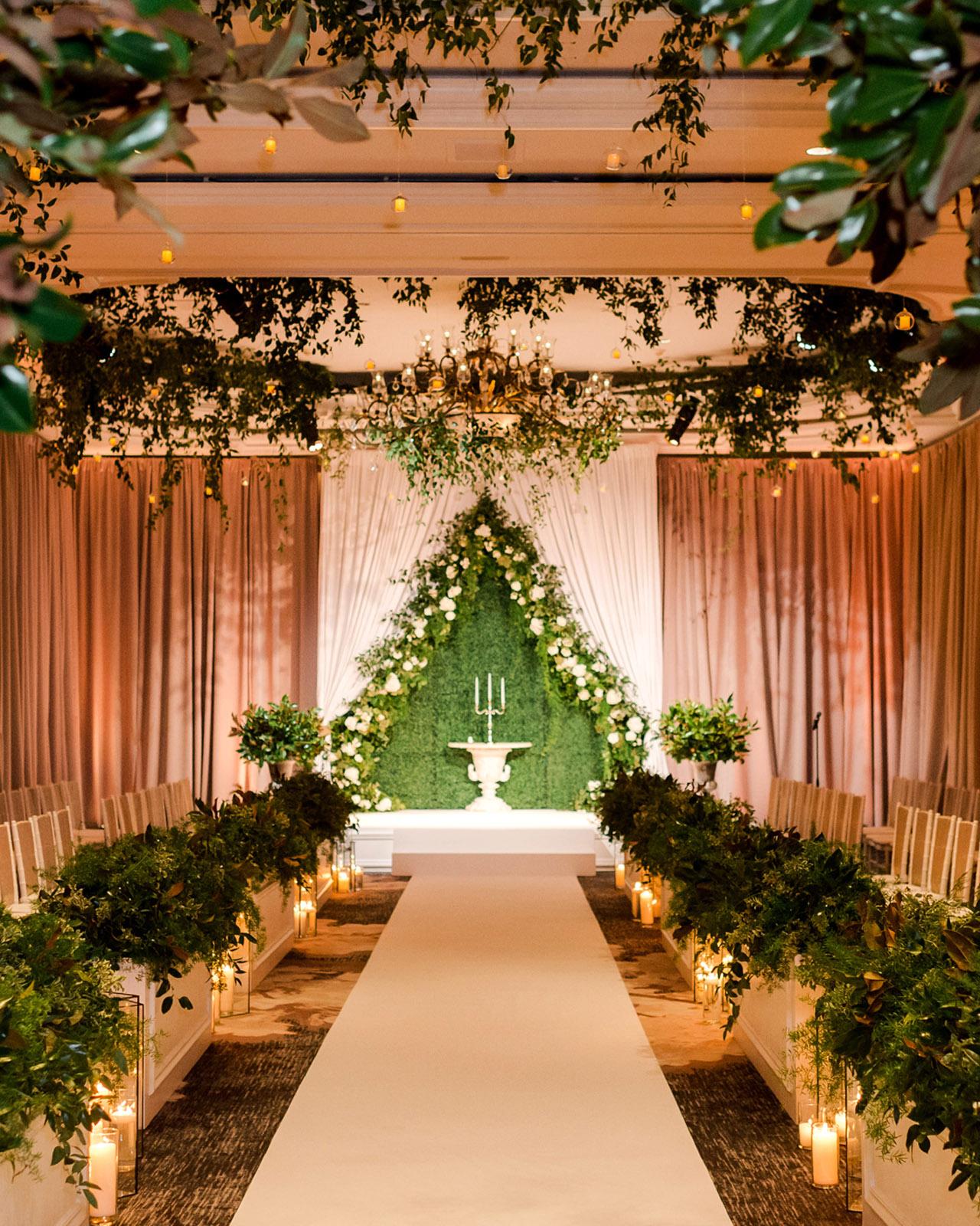 denita john wedding ceremony space
