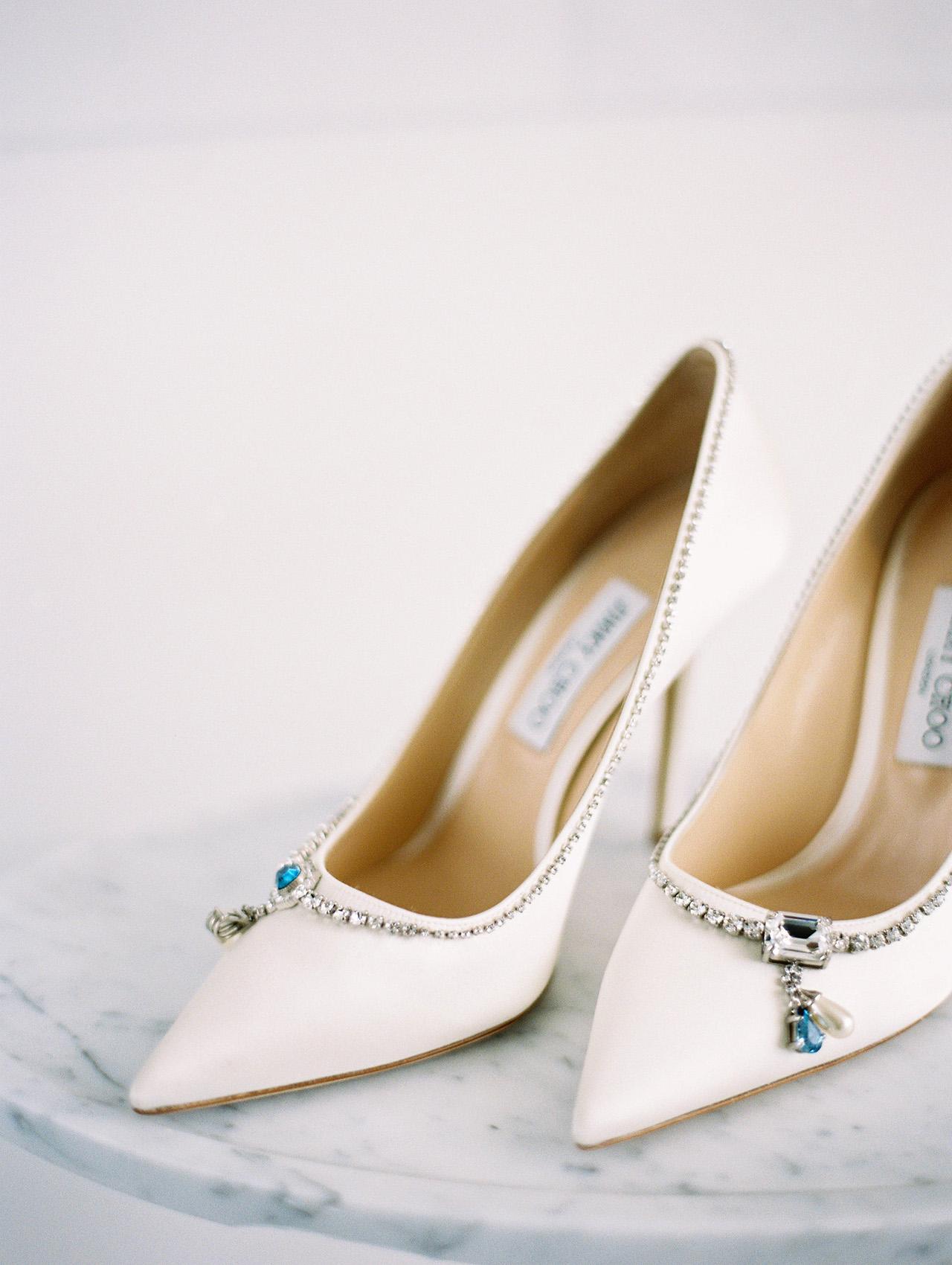 denita john wedding shoes bride