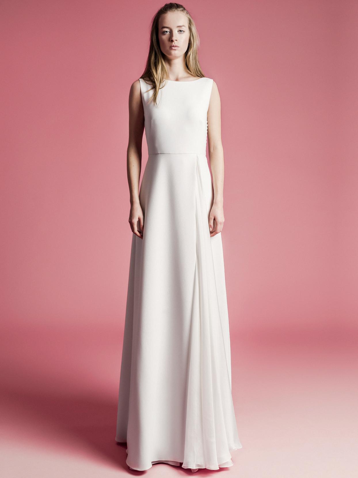 Sophie Et Voilà high neck sleeveless a-line wedding dress spring 2021