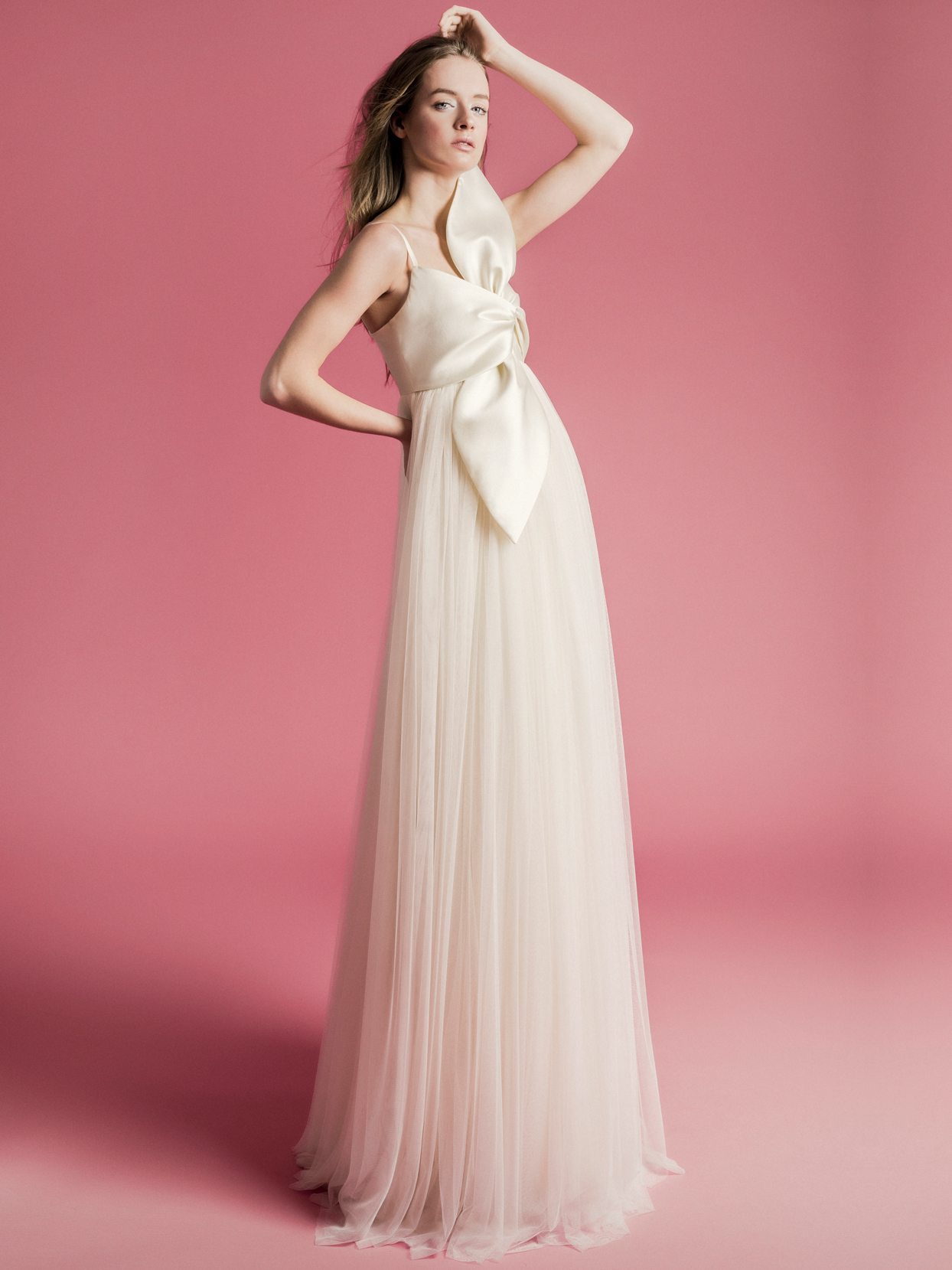 Sophie Et Voilà bow top tulle skirt wedding dress spring 2021