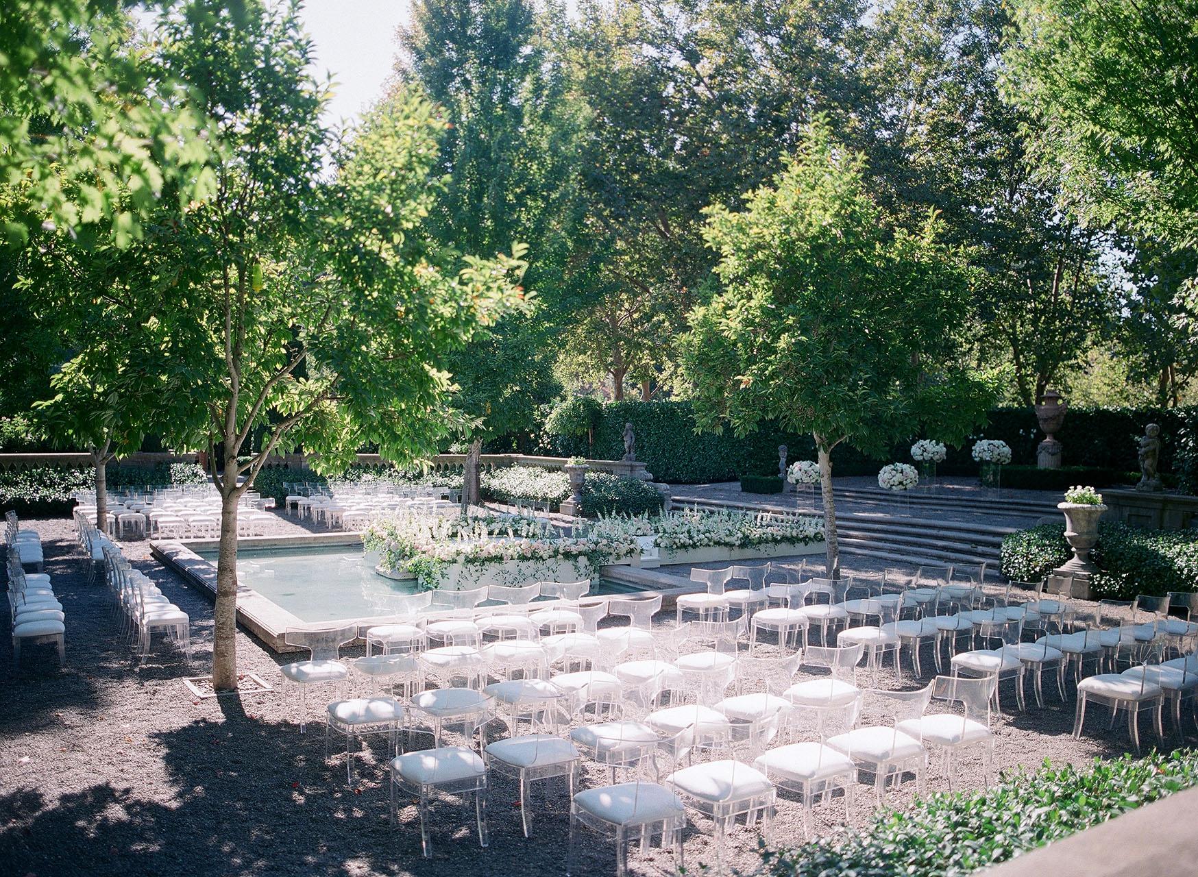 gillian tyler wedding ceremony outdoor seating