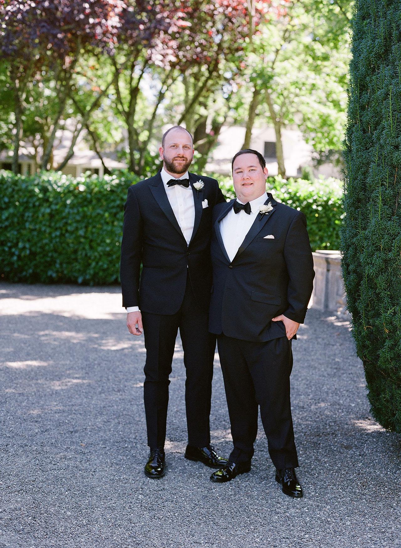 gillian tyler wedding groom groomsmen