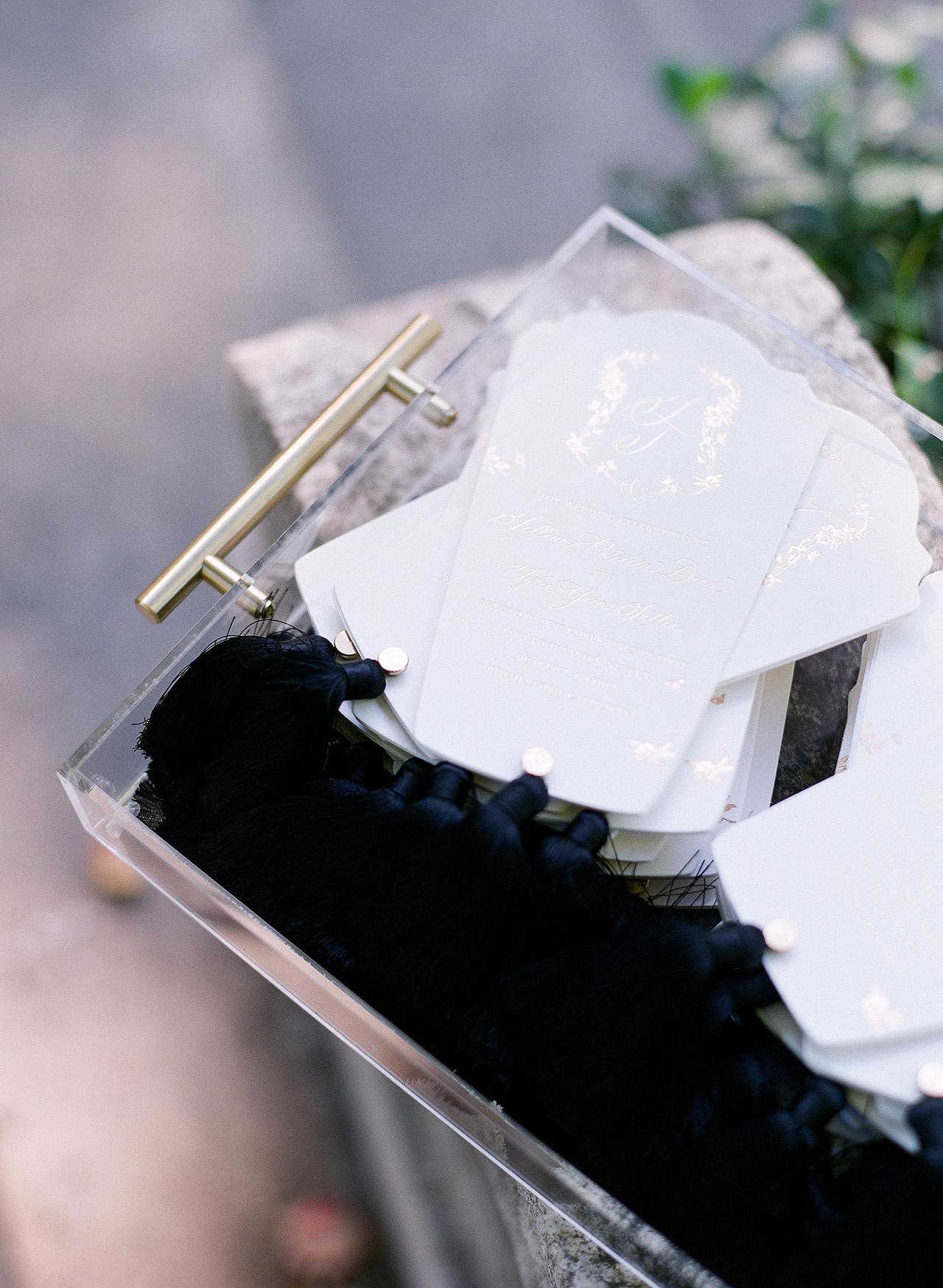 gillian tyler wedding program