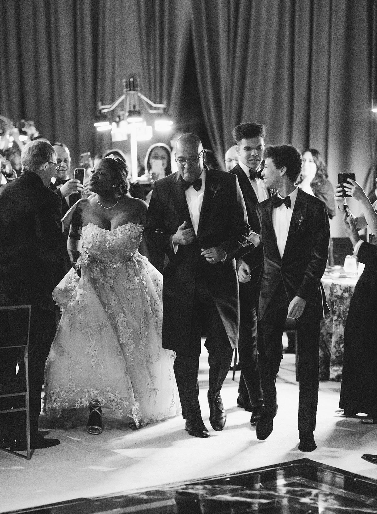 wedding reception couple debut