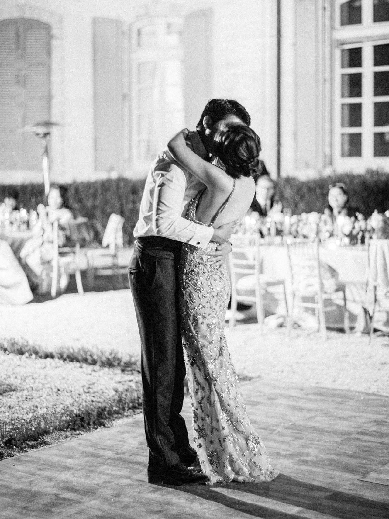 nancy sangho wedding first dance couple
