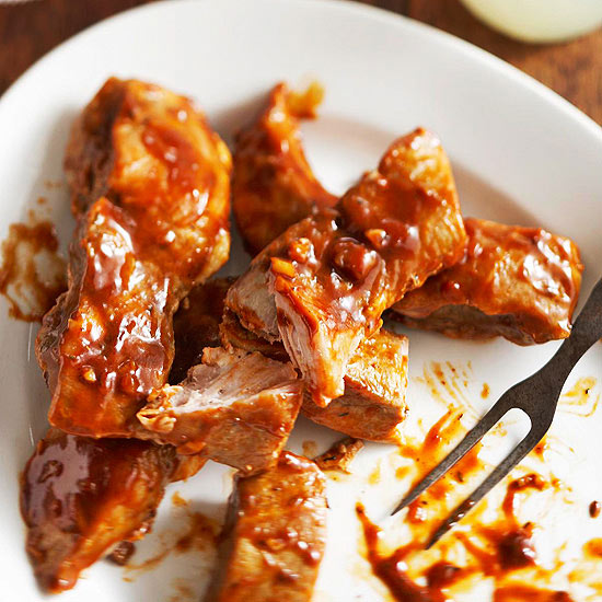 Barbecue Country-Style Ribs,