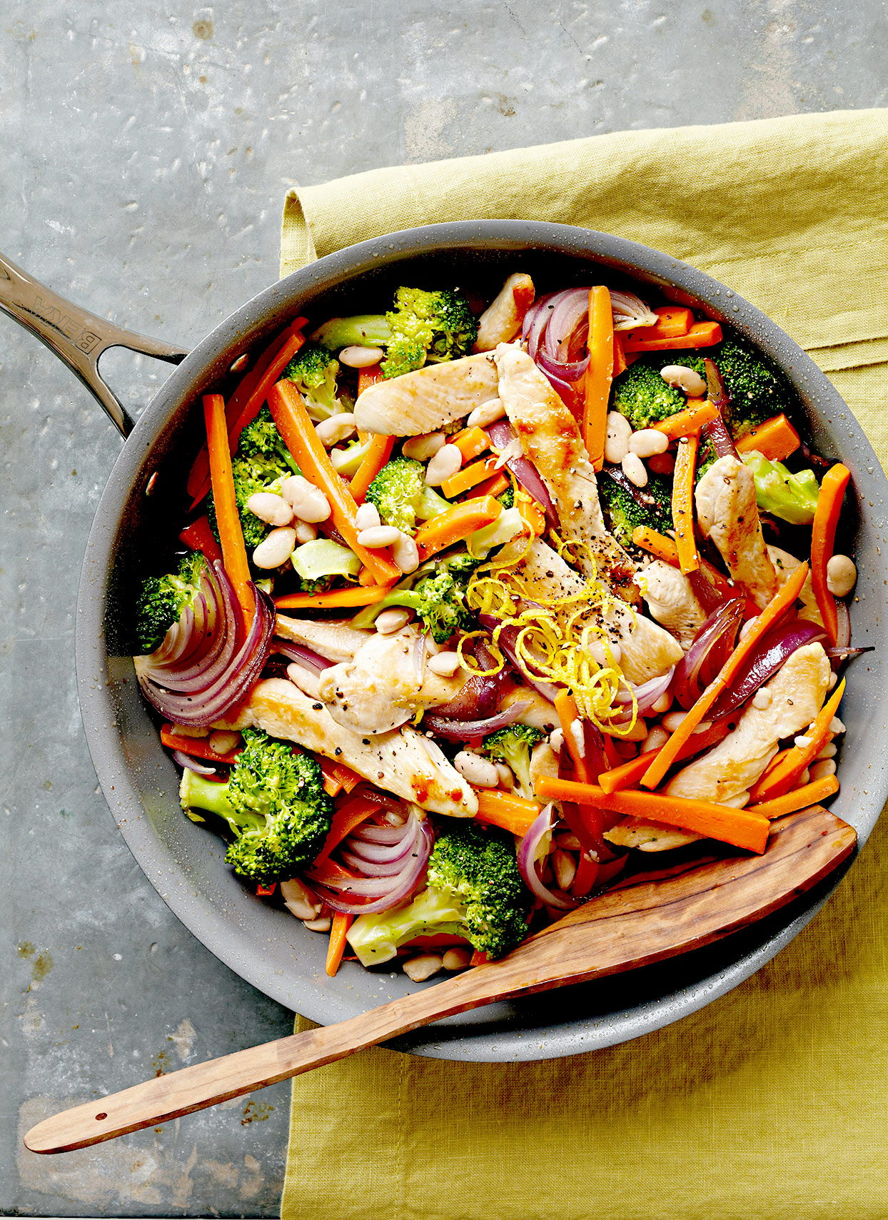 Chicken and Vegetable Sauté