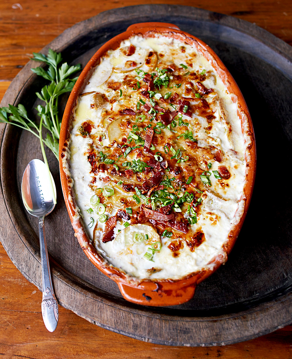 Potato-Apple Gratin
