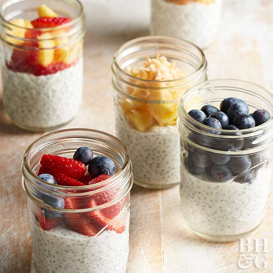 Chia Pudding with Fruit