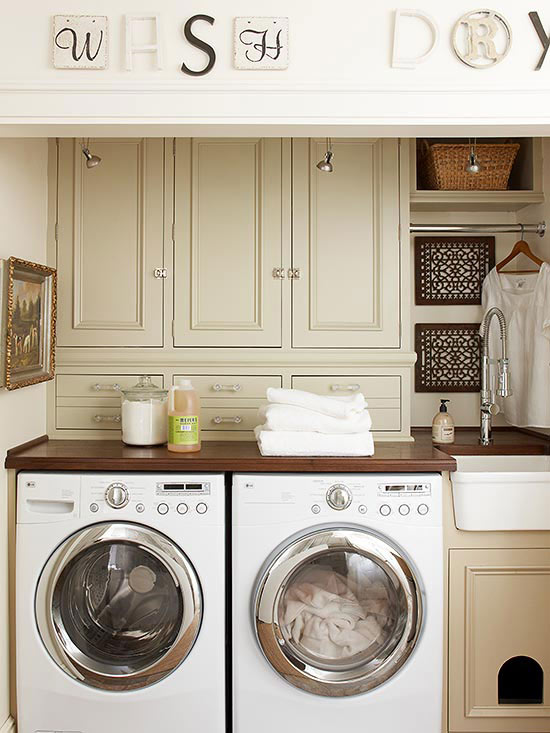 Laundry Room Cabinetry Ideas Better