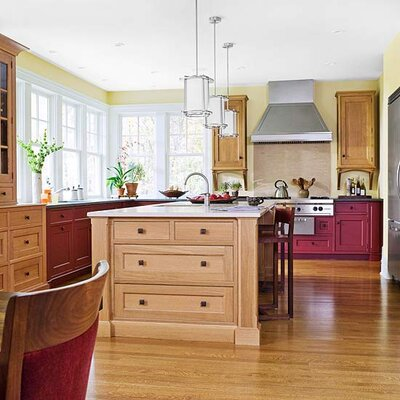 Awe Inspiring Wood Kitchen Cabinet Tips Ideas Better Homes Gardens Download Free Architecture Designs Embacsunscenecom