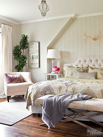 13 Ways To Style The Foot Of Your Bed