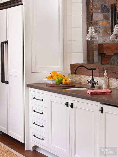 Easy To Clean Kitchen Design Tips Better Homes Gardens