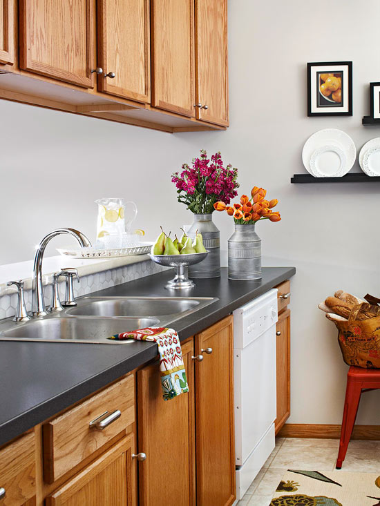 Painting Oak Cabinets Q A Better
