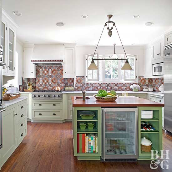 Select the Best Wood for Your Kitchen Floor | Better Homes ...