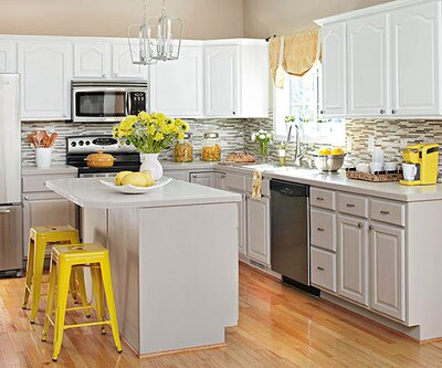 Genius Tips for Painting Kitchen Cabinets | Better Homes & Gardens