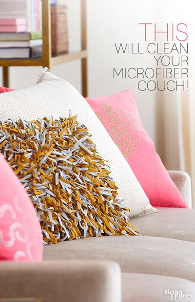 You Ll Never Believe What Will Clean Your Microfiber Couch