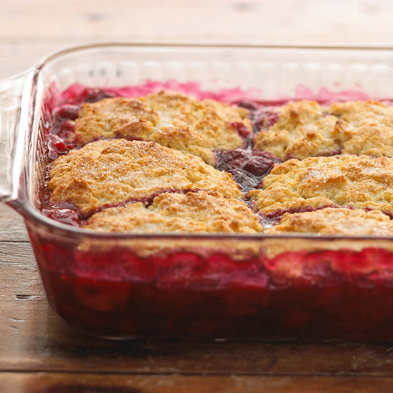 Blueberry, Cherry, or Peach Cobbler