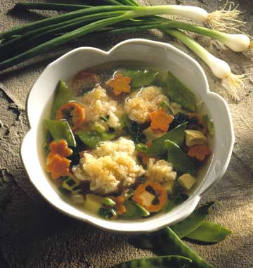 soup with carrots