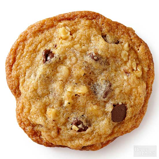 Thin-and-Crispy Chocolate Chip Cookie