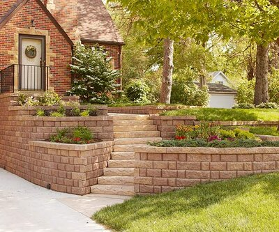 Build Landscape and Retaining Walls and Keep Them in Tip-Top