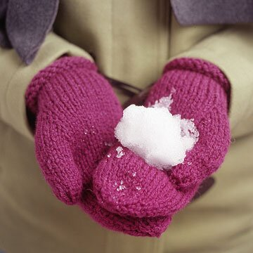 99f225afe So-Simple Mittens You Can Knit | Better Homes & Gardens