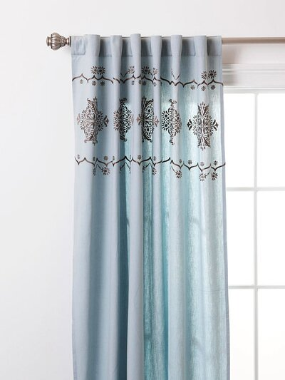 Ing And Hanging Curtain Panels