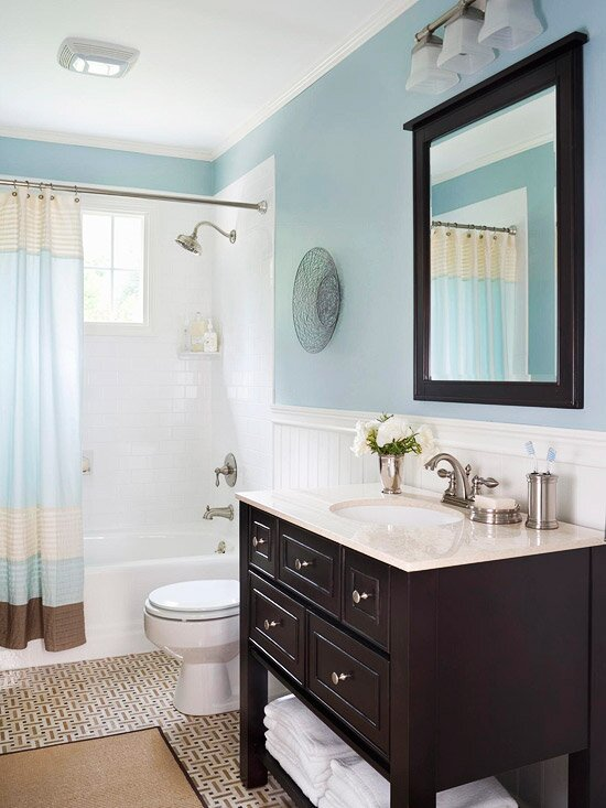 20 Beautiful Bathrooms That Arent Afraid Of Color