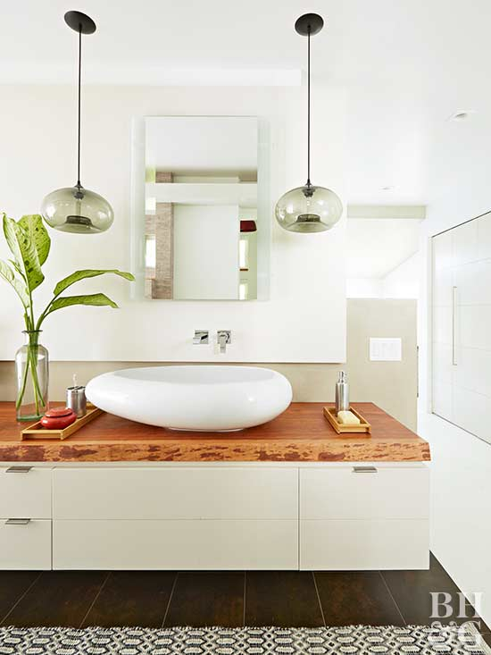 bathroom sink, white sink, cabinets