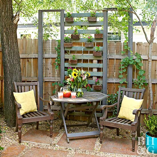 Small Backyard Ideas | Better Homes & Gardens on backyard with pergola ideas, backyard with pool ideas, yard deck ideas, backyard with swing sets, backyard with fire pit, backyard with gazebo ideas, backyard with trees ideas, backyard with garden ideas, backyard designs, backyard with playground ideas, backyard with fireplace ideas,