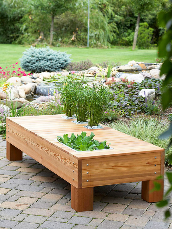 Outdoor Storage Table