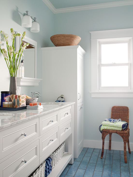 Small Bathroom Color Ideas Better Homes Gardens,Room Clothes Organizer Ideas