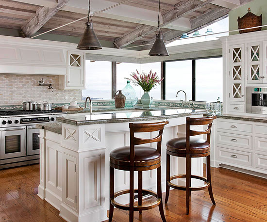 Ocean inspired kitchen