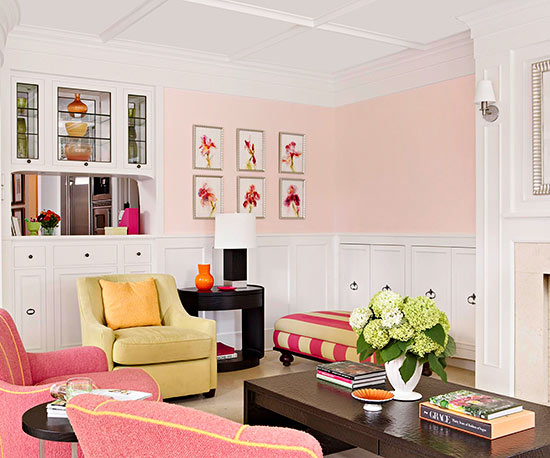 What Color Goes With Pink Better Homes Gardens