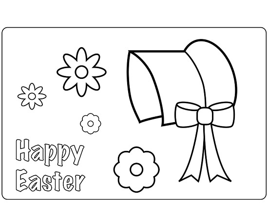 Easter Bonnet Place Mat