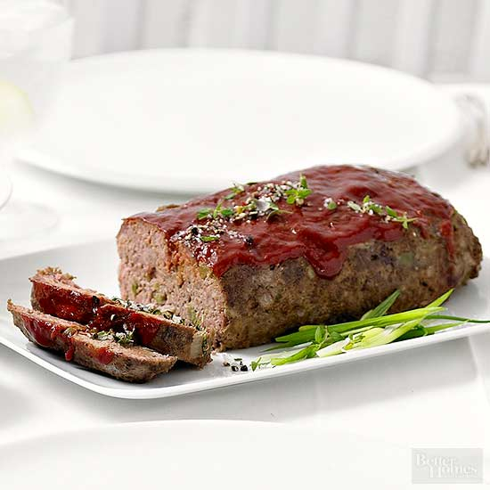 All-American Classic Meat Loaf
