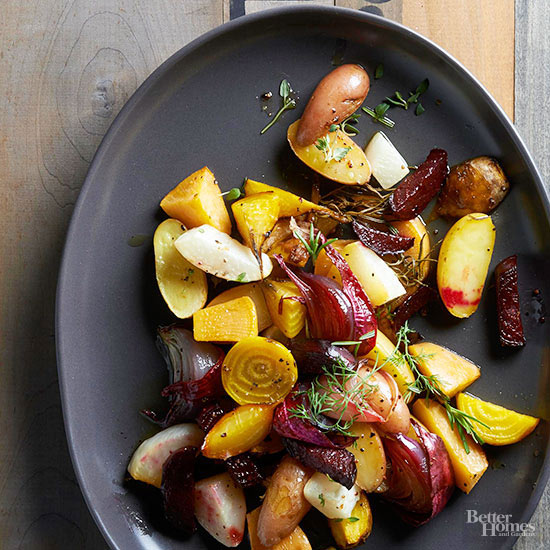 Medley of Roasted Root Vegetables