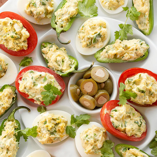 Ranch Deviled Eggs,